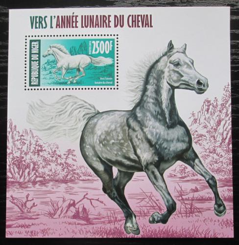 Poštovní známka Niger 2013 Èínský nový rok, rok konì Mi# Block 199 Kat 10€