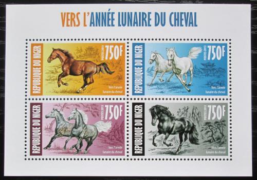 Poštovní známky Niger 2013 Èínský nový rok, rok konì Mi# 2293-96 Kat 12€