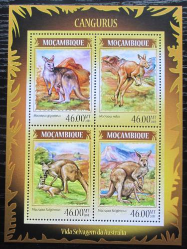 Poštovní známky Mosambik 2014 Klokani Mi# 7305-08 Kat 11€