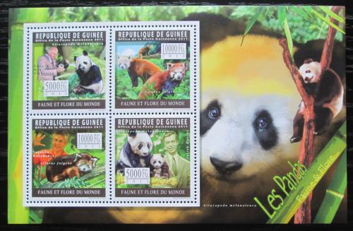 Poštovní známky Guinea 2011 Pandy Mi# Mi# 8319-22 Kat 12€