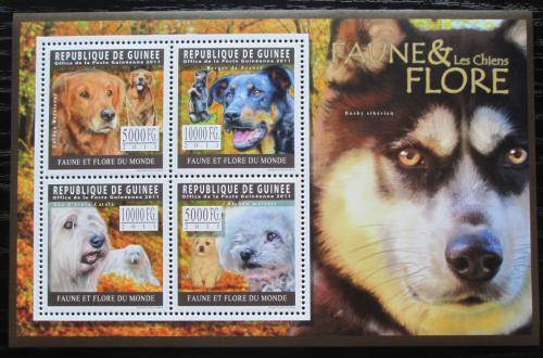 Poštovní známky Guinea 2011 Psi Mi# 8334-37 Kat 12€