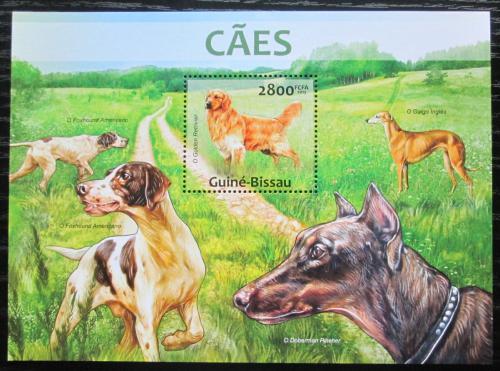 Poštovní známka Guinea-Bissau 2013 Psi Mi# Block 1154 Kat 11€