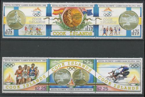 Poštovní známky Cookovy ostrovy 1992 LOH Barcelona Mi# 1354-60 Kat 20€