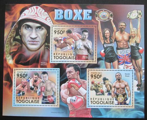 Poštovní známky Mosambik 2012 Slavní boxeøi Mi# 4369-71 Kat 11€
