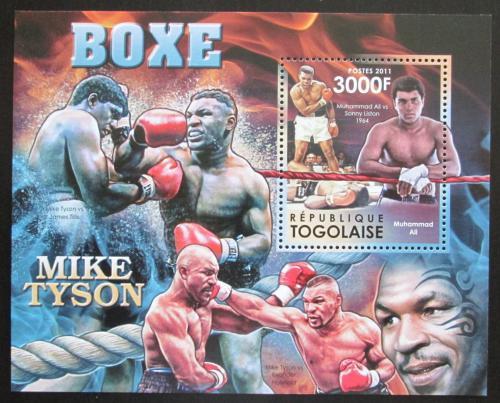 Poštovní známka Mosambik 2012 Slavní boxeøi Mi# Block 689 Kat 12€