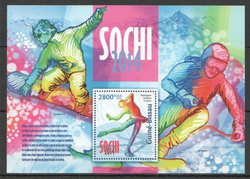 Poštovní známka Guinea-Bissau 2013 ZOH Soèi Mi# Block 1181 Kat 11€