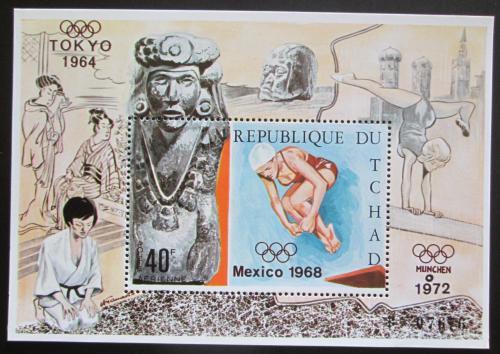 Poštovní známka Èad 1970 Letní olympijské hry Mi# Block 11 A Kat 10€
