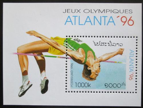 Poštovní známka Laos 1996 LOH Atlanta Mi# Block 156