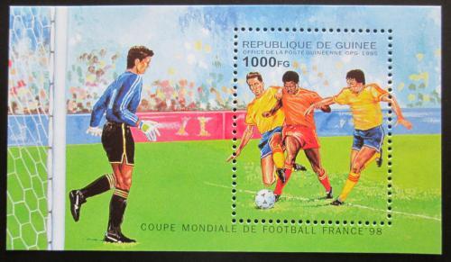 Poštovní známka Guinea 1995 MS ve fotbale Mi# Block 498