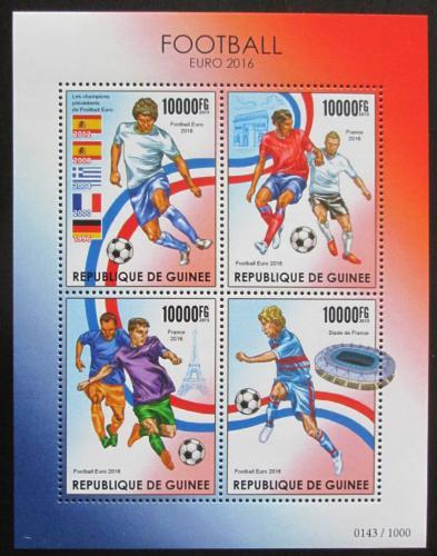 Poštovní známky Guinea 2015 ME ve fotbale Mi# 11403-06 Kat 16€