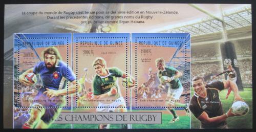 Poštovní známky Guinea 2012 Rugby Mi# 9308-10 Kat 16€
