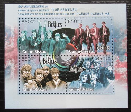 Poštovní známky Guinea-Bissau 2013 The Beatles Mi# 6472-75 Kat 14€