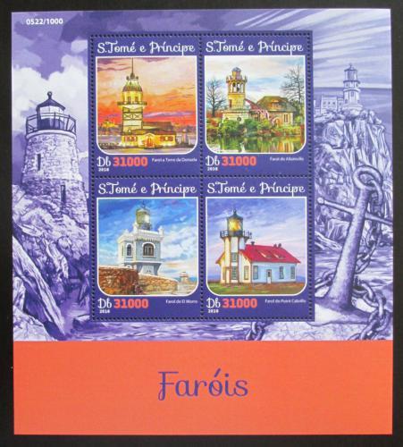 Poštovní známky Svatý Tomáš 2016 Majáky Mi# 6656-59 Kat 12€