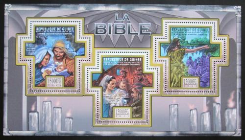 Poštovní známky Guinea 2011 Dìjiny Bible Mi# 8502-04 Kat 18€