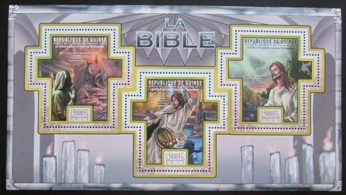 Poštovní známky Guinea 2011 Dìjiny Bible Mi# 8508-10 Kat 18€