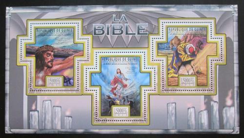 Poštovní známky Guinea 2011 Dìjiny Bible Mi# 8511-13 Kat 18€