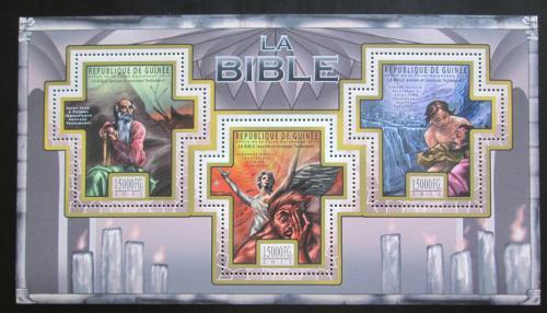 Poštovní známky Guinea 2011 Dìjiny Bible Mi# 8514-16 Kat 18€