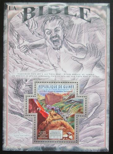 Poštovní známka Guinea 2011 Dìjiny Bible Mi# Block 1973 Kat 16€