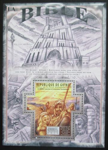 Poštovní známka Guinea 2011 Dìjiny Bible Mi# Block 1974 Kat 16€
