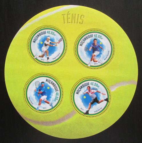 Poštovní známky Mosambik 2013 Slavní tenisti Mi# 7072-75 Kat 11€