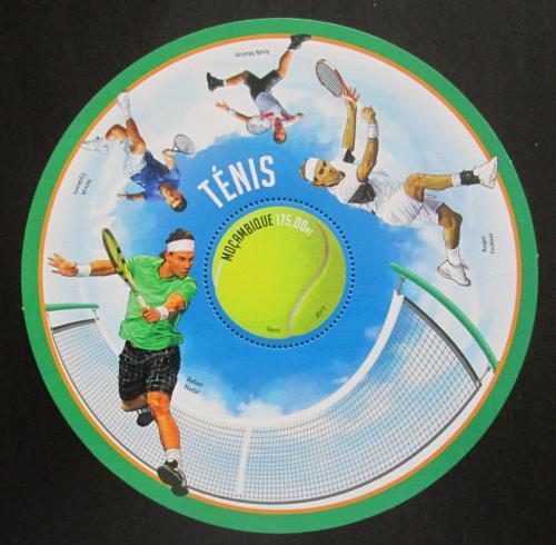 Poštovní známka Mosambik 2013 Slavní tenisti Mi# Block 854 Kat 10€