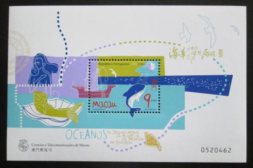 Poštovní známka Macao 1998 Mezinárodní rok moøe Mi# Block 55