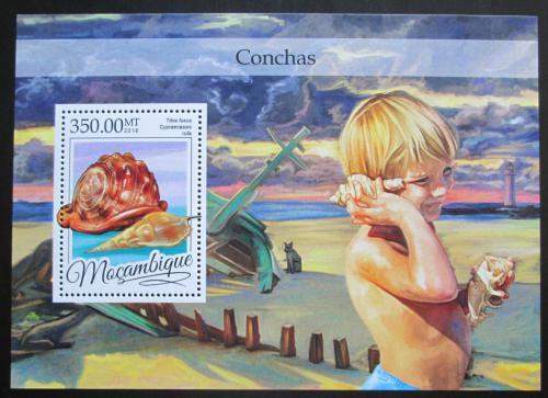 Poštovní známka Mosambik 2016 Mušle Mi# Block 1158 Kat 20€