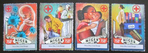 Poštovní známky Niger 2016 Boj proti viru Zika Mi# 4292-95 Kat 12€