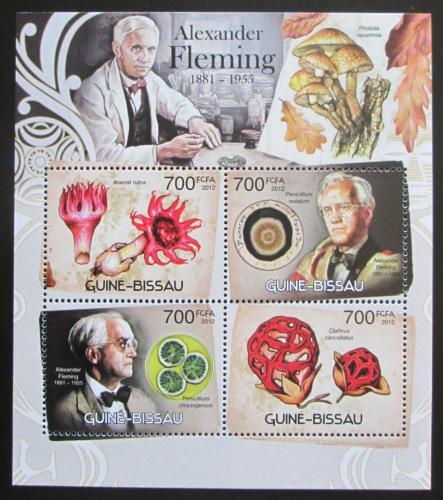 Poštovní známky Guinea-Bissau 2012 Alexander Fleming Mi# 6097-6100 Kat 11€
