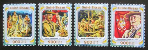 Poštovní známky Guinea-Bissau 2016 Skauti, R. Baden-Powell Mi# 8514-17 Kat 12.50€