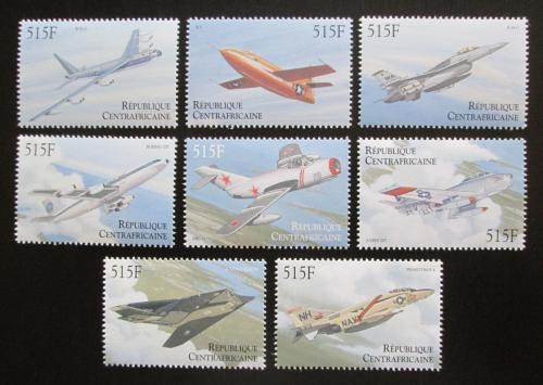 Poštovní známky SAR 2000 Letadla Mi# 2482-89 Kat 19€