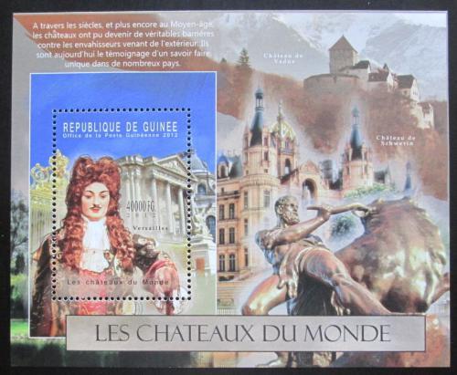 Poštovní známka Guinea 2012 Hrady Mi# Block 2115 Kat 16€