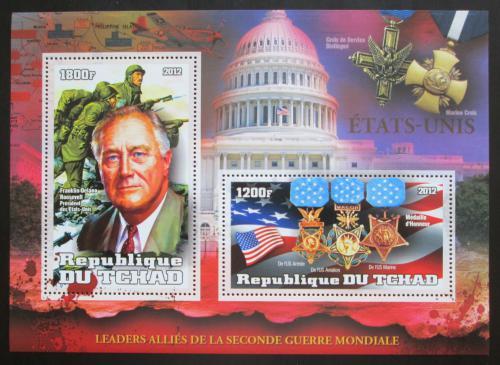 Poštovní známka Èad 2012 Prezident F. D. Roosevelt Mi# N/N