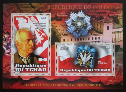 Poštovní známka Èad 2012 Generál Kazimierz Sosnkowski Mi# N/N