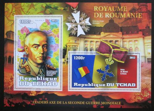 Poštovní známka Èad 2012 Ion Antonescu, premiér Rumunska Mi# N/N