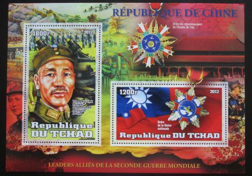 Poštovní známka Èad 2012 Èankajšek, prezident Èíny Mi# N/N