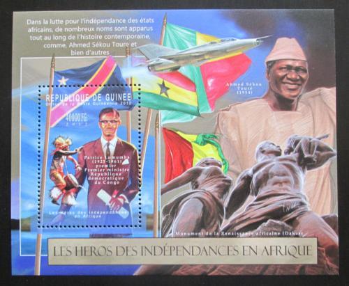 Poštovní známka Guinea 2012 Bojovníci za svobodnou Afriku Mi# Block 2119 Kat 16€