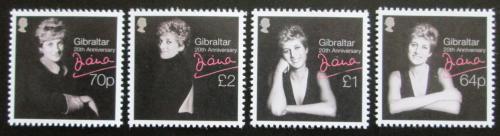 Poštovní známky Gibraltar 2017 Princezna Diana Mi# 1815-18 Kat 11.50€
