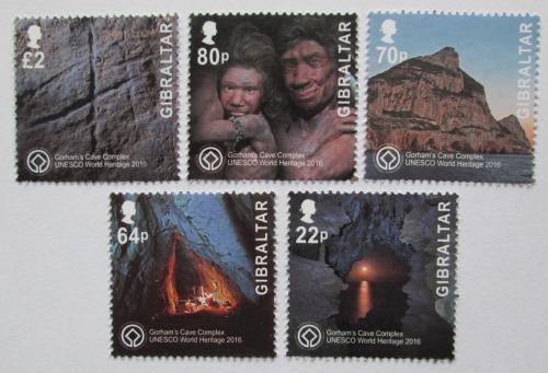 Poštovní známky Gibraltar 2016 Život v pravìku Mi# 1746-50 Kat 12€