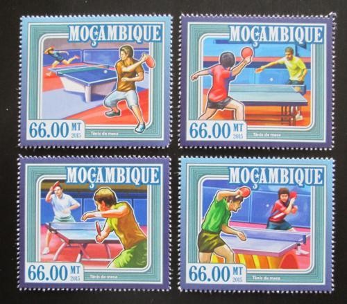 Poštovní známky Mosambik 2015 Stolní tenis Mi# 7705-08 Kat 15€