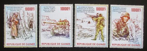 Poštovní známky Guinea 2015 Bitva v Ardenách Mi# 11378-81 Kat 16€