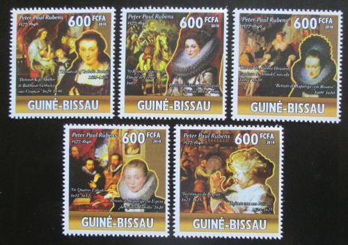 Poštovní známky Guinea-Bissau 2010 Umìní, Peter Paul Rubens Mi# 5146-50 Kat 13€