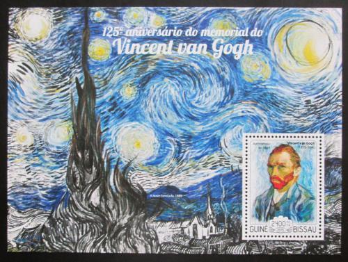Poštovní známka Guinea-Bissau 2015 Umìní, van Gogh Mi# Block 1329 Kat 9€