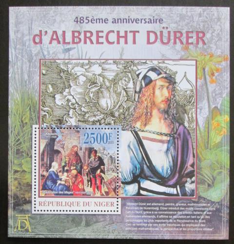 Poštovní známka Niger 2013 Umìní, Albrecht Dürer Mi# Block 178 Kat 10€