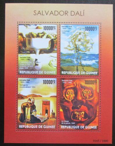 Poštovní známky Guinea 2015 Umìní, Salvador Dalí Mi# 11343-46 Kat 16€