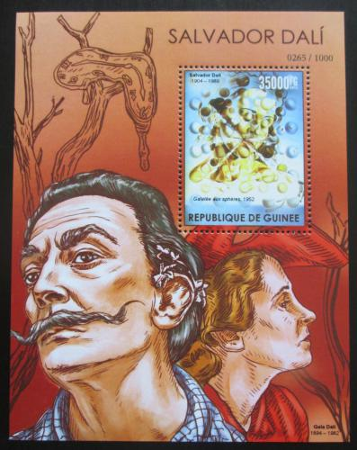 Poštovní známka Guinea 2015 Umìní, Salvador Dalí Mi# Block 2565 Kat 14€