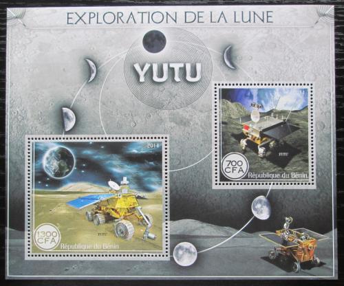 Poštovní známky Benin 2014 Prùzkum Mìsíce Mi# N/N