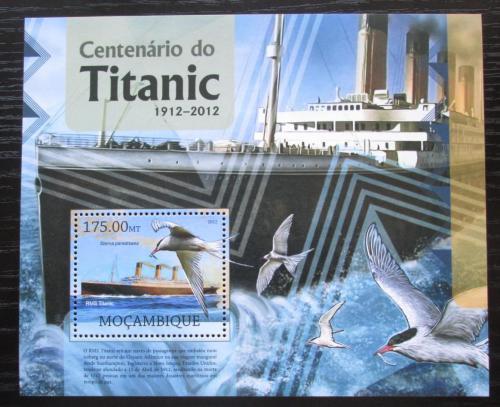 Poštovní známka Mosambik 2012 Loï Titanic Mi# Block 668 Kat 10€