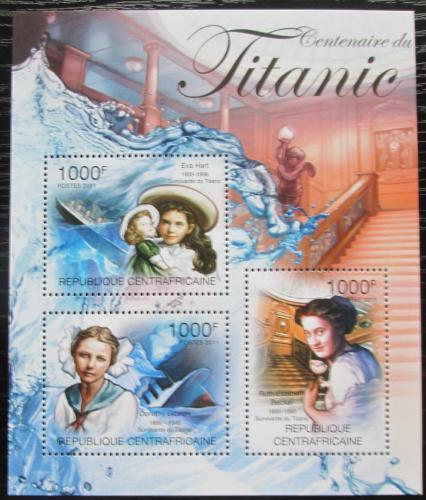 Poštovní známky SAR 2011 Loï Titanic Mi# 3136-38 Kat 12€