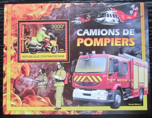 Poštovní známka SAR 2012 Hasièi Mi# Block 983 Kat 14€